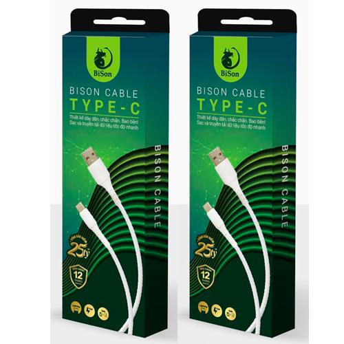 Cáp Bison USB to TypeC